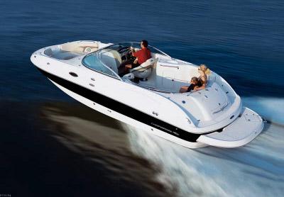 Boat Rental | 26 Foot Chaparral Sunesta 254 Deck Boat | Cape