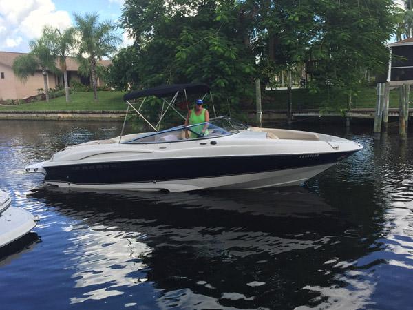 boat rental 26 foot regal 2600 lsr bowrider cape coral florida